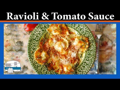 How to make Ravioli with Roast Tomato Sauce