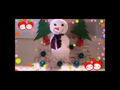 Mini Winter Wonderland  * Cute DIY to try with the kids *