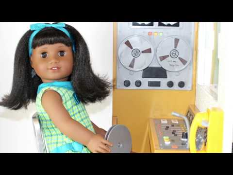 American Girl Doll Recording Studio Playset Review