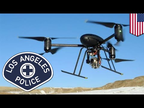Police drones: LAPD green lights police drones in year-long pilot program test - TomoNews