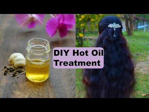 Hot Oil Treatment For Hair Growth | How To Do Hot Oil Treatment For Dry & Damaged Hair At Home