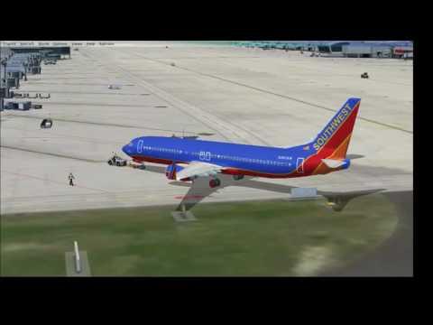 [FSX][VATSIM] Southwest Airlines 1238 Atlanta (KATL) to Punta Cana (MDPC)