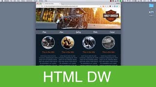 HTML tutorial with Dreamweaver CC 2018 Part one