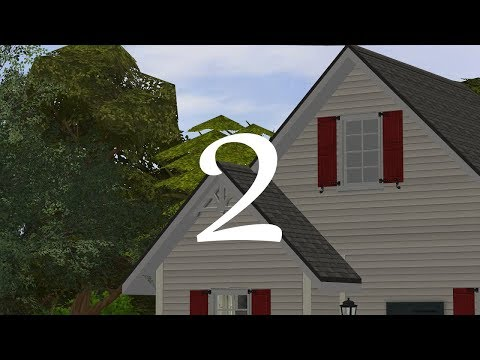 The Sims 2 - Riverblossom Hills - 115 Riverbend Road - Part 2
