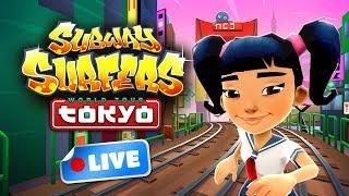 🎮 Subway Surfers World Tour 2018 - Tokyo Gameplay Livestream