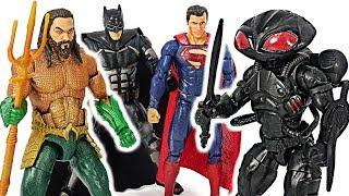 Justice League Aquaman VS Black Manta! #DuDuPopTOY