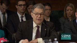John Cornyn Takes On Al Franken at Jeff Sessions Nomination Hearing