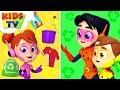 Recycling Song The Supremes Cartoons Videos Songs For Babies Kids TV
