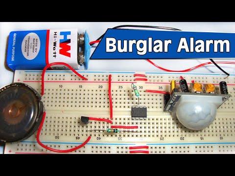 Burglar Alarm Project