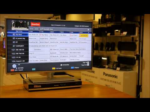 How to remove series link & timer recordings from Panasonic DVD/HDD recorders