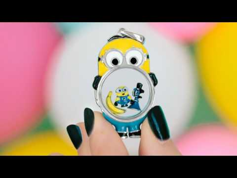 Origami Owl Minions Lockets and Charms Despicable Me 3 Collection