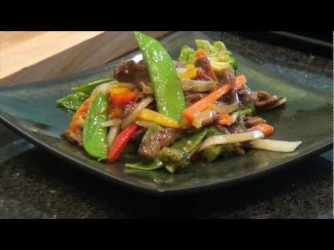 Asian Beef and Vegetable Stir-Fry Recipe - Chef Lance Youngs
