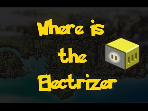 Where Is: The Electrizer (Pokemon Heart Gold/Soul Silver)