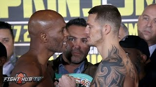 Hopkins Goes After Smith! Bernard Hopkins Vs. Joe Smith Jr. Full Weigh In Video & Face Off