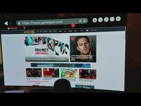 LG OLED C6P Internet Browser & Other Features