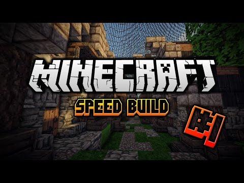 Minecraft Speed Build #1 Server Spawn