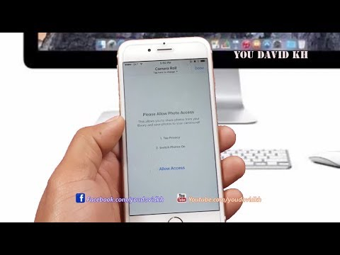 How to iPhone Can not Post Pictures & Video To Facebook