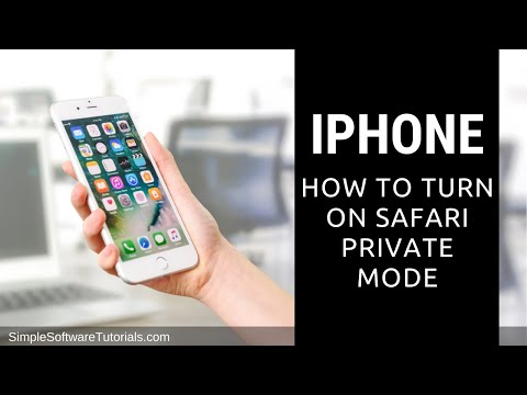 Tutorial: How to Turn on Safari Private Mode on iPhone