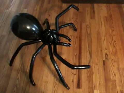 Spider Balloon Animal - Non-Tutorial (Balloon Vlog #3)