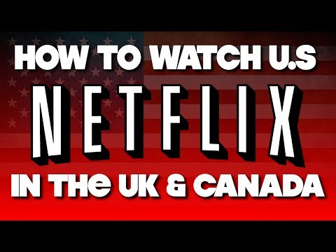 How to get US Netflix on a UK PS4