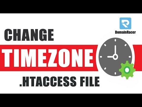 Change/Adjust Default Server TimeZone [.htaccess File]
