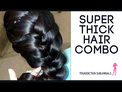 Super THICK HAIR and Positive Living COMBO( PART 2 of 4 )~TruAddictionSubliminal💋