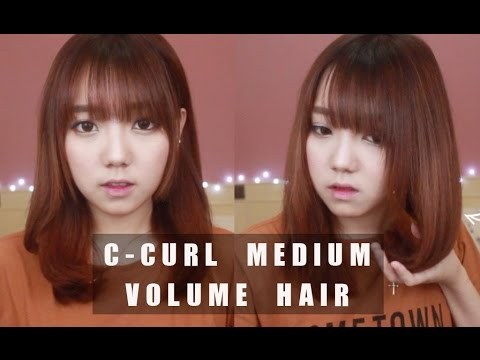 EASY & QUICK C-curls Medium Volume Hair X GLAMPALM ♥ | Littlemissboo