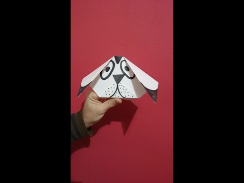 How To Make A Dog Origami - Easy and Fun