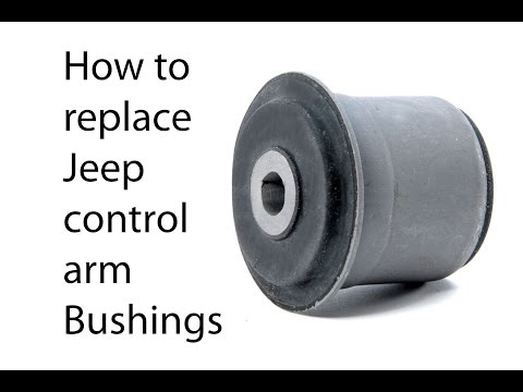 How to replace Jeep bushings