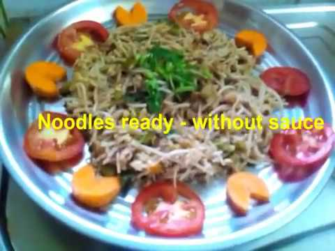 How to Make Noodles Without sauce
