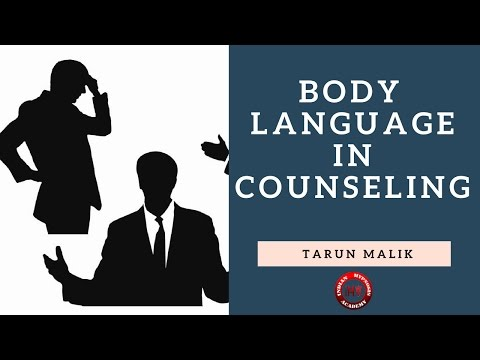 Body Language for Good Rapport Building in Counseling (Hindi)