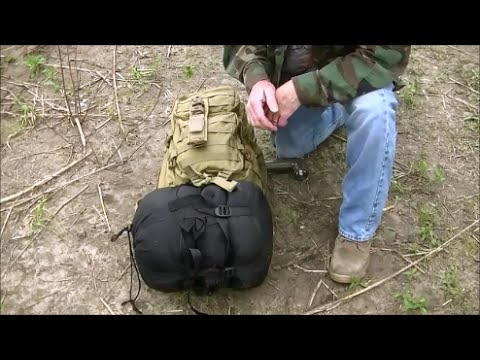 Modifying The Mil-Tec Assault Pack for the MSS