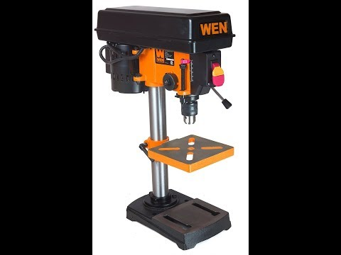 Review:  WEN 4210 Drill Press with Laser, 10-Inch