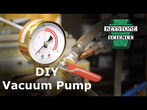 How to make a Vacuum pump out of a Fridge