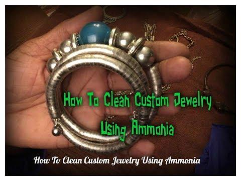 Jewelry Cleaning Using Ammonia
