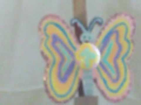 Butterfly Coat Hanger For Girls