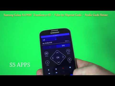 Samsung Galaxy S4 I9505 transform to S5 TouchWiz