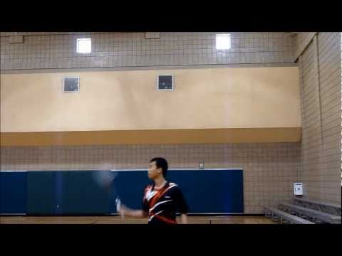Badminton Backhand Technique - How to backhand clear, smash, and drop