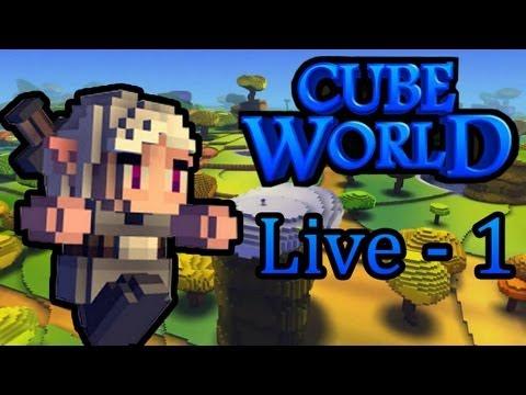 Cube World : Aventure Découverte | Episode 1 - Live