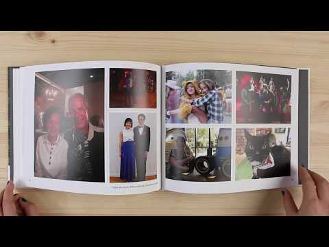 Apple photo book flip through - Our pick for best photo book service for Mac users