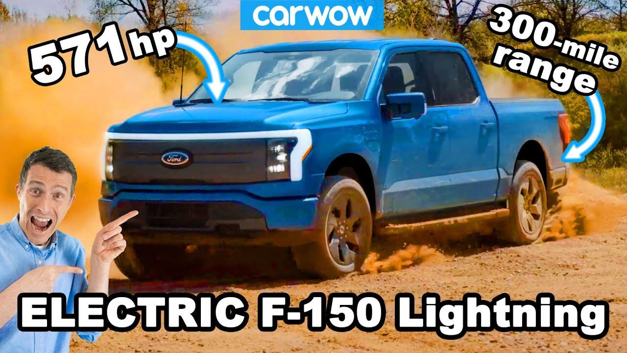 NEW Ford F-150 Lightning EV - better than a Tesla Cybertruck!