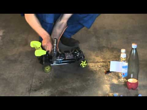 Nitro RC car fuel, make it and use!