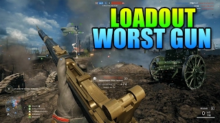 Loadout Selbstlader 1906 Is The Worst! | Battlefield 1 Medic Gameplay