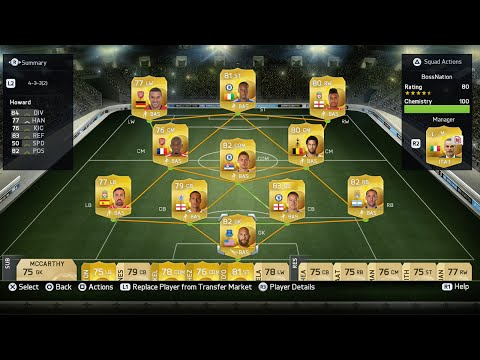 FIFA 15 Ultimate Team - Barclays Premier League