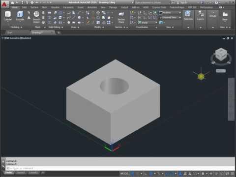 3D volume AutoCAD