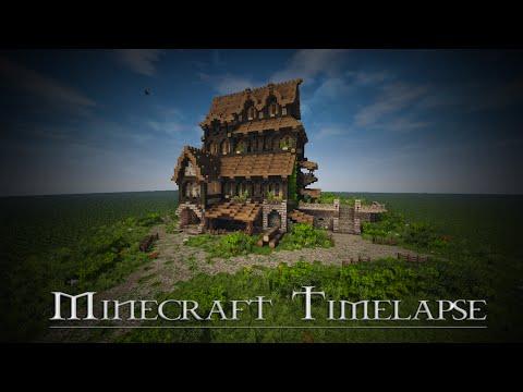 [Boitameu] Minecraft Timelapse : Medieval House - Skyrim Inspiration (+DOWNLOAD)