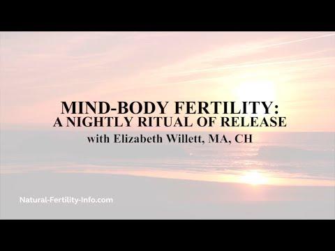 Mind Body Fertility A Nightly Ritual of Release