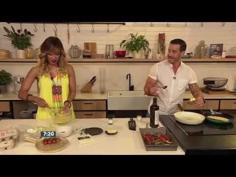 Tomato, Mushroom & Cheese Omelette