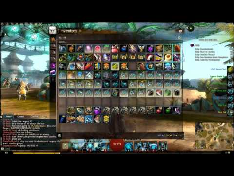 Opening dyes and Black Lion Chests