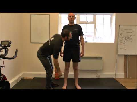 Treating a torn calf muscle with Neuroskeletal therapy